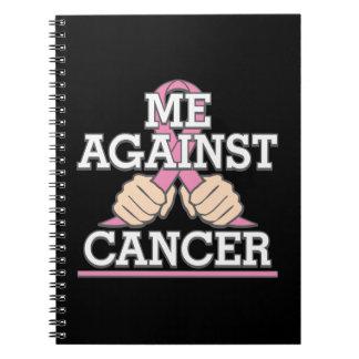 Yo contra cáncer de pecho libretas