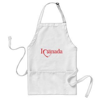 """""""Yo corazón Canadá """" Delantal"""