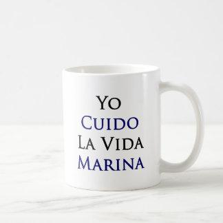 Yo Cuido La Vida Marina Mugs