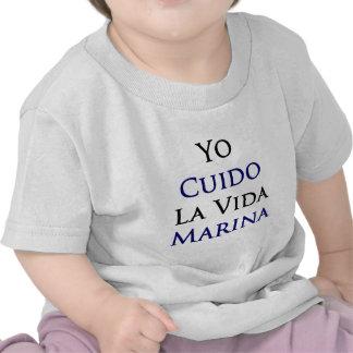 Yo Cuido La Vida Marina T Shirts