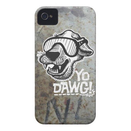 ¡Yo Dawg! casamata 3 del iPhone 4/4S Carcasa Para iPhone 4