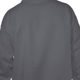 ¡Yo Dawg Sudadera con capucha oscura trasera