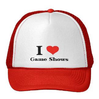 Yo demostraciones de juego de amor gorras