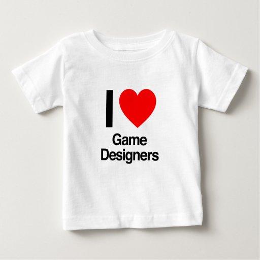 yo diseñadores del juego de amor poleras