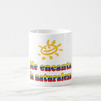 Yo Ecuadorian de la naturaleza del amor de Natural Taza De Café