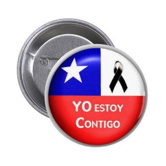 Yo Estoy Contigo - 2010 Pin Redondo De 2 Pulgadas