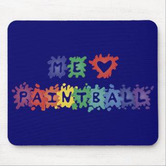 Yo gusta Paintball Tapetes De Ratones