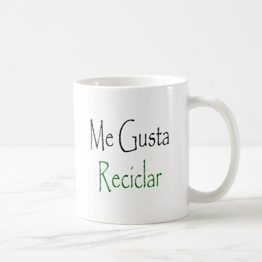 Yo Gusta Reciclar Tazas De Café