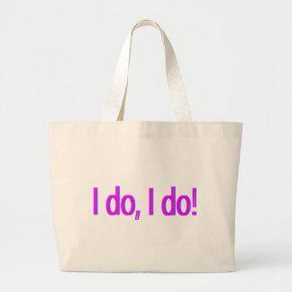 Yo hago bolsa tela grande