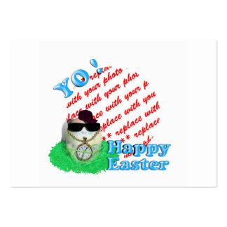 YO! Hava Eggstra Special Easter! Photo Frame Business Card Templates