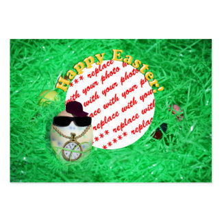YO! Hava Eggstra Special Easter! Photo Frame Business Card Template
