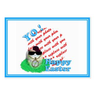 YO! Hava Eggstra Special Easter! Photo Frame Business Cards