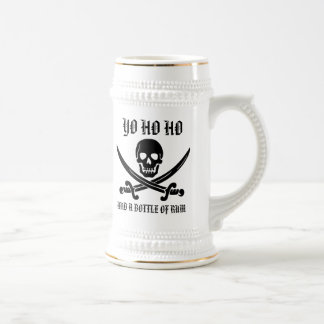 Yo Ho Ho And A Bottle Of Rum Stein