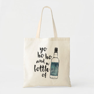 Yo Ho Ho Bottle of Rum Tote Bag