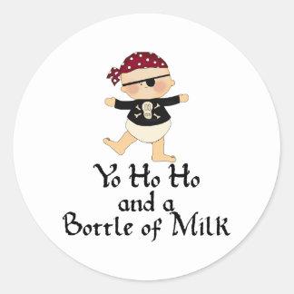 Yo Ho Ho Classic Round Sticker