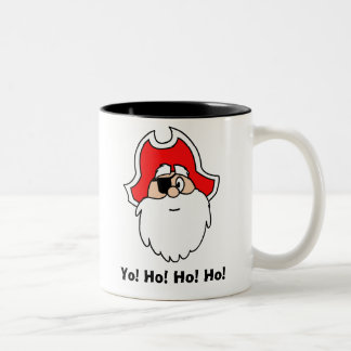 Yo! Ho! Ho! Ho! Santa Pirate Mug