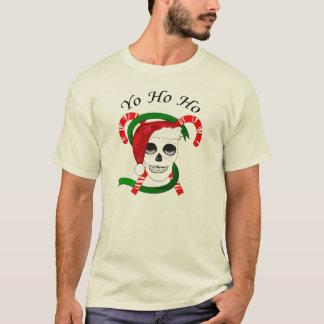 Yo Ho Ho Merry Christmas Pirate Two Sided Tee