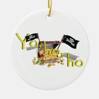 YO HO HO CHRISTMAS TREE ORNAMENTS