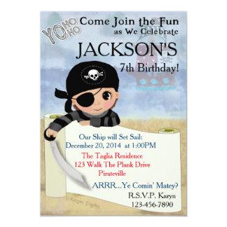 Yo Ho Ho Pirate Party Invitation