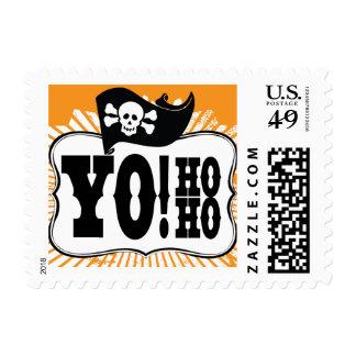 Yo Ho Ho PIrate Postage