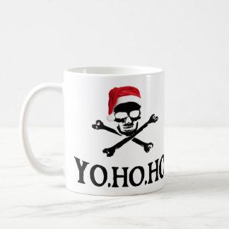 Yo Ho Ho Pirate Santa Mug
