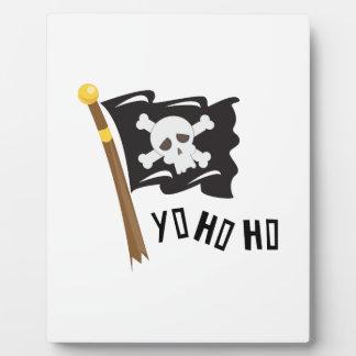 Yo Ho Ho Display Plaques