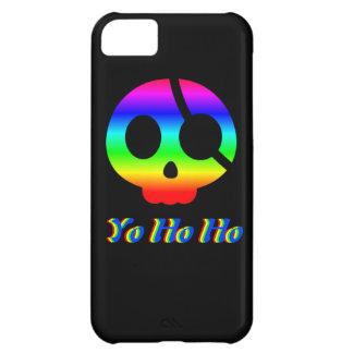 Yo Ho Ho Rainbow Pirate Skull iphone 5 case