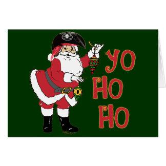 Yo Ho Ho Santa Card