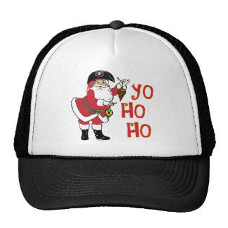 Yo Ho Ho Santa Hat