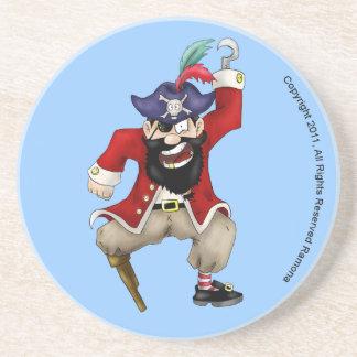 Yo Ho Pirate circle Coaster