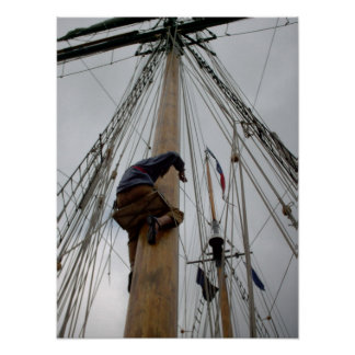 Yo Ho Ship photo poster