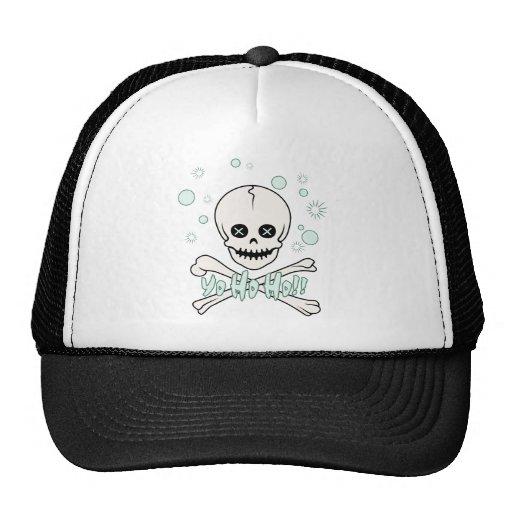 Yo Ho Skull Hat