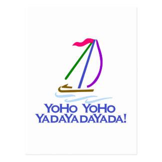 Yo Ho Yo Ho Postcard