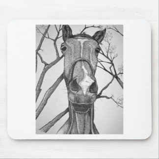 Yo! Horse Art Mouse Pad