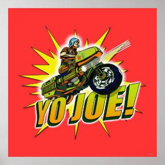 ¡Yo Joe Poster