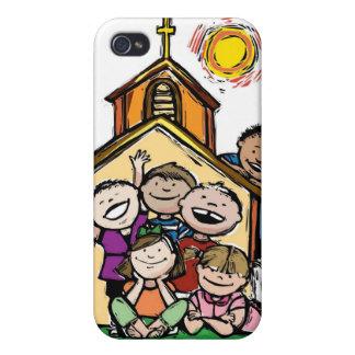 Yo la iglesia de los niños de amor iPhone 4/4S fundas
