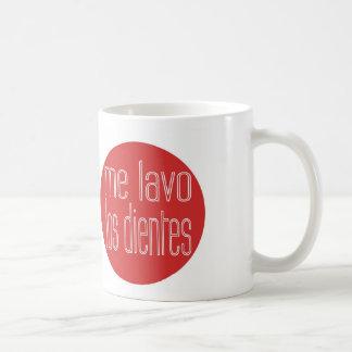 Yo Lavo Los Dientes Taza De Café