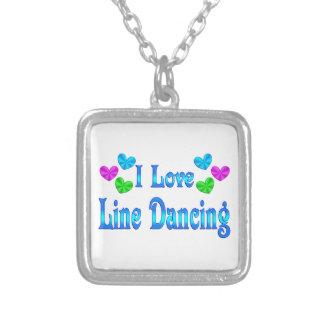 Yo línea de amor baile pendiente personalizado