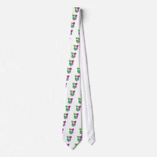 Yo línea de amor baile corbatas personalizadas