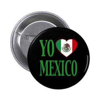 Yo Love Mexico (I love Mexico) with Flag Heart Pins
