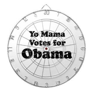 YO MAMA VOTES OBAMA -.png Dart Boards