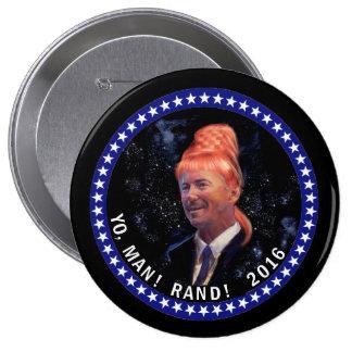 Yo, Man! Rand! 4 Inch Round Button