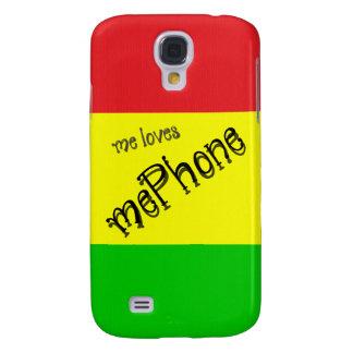 yo mePhone de los amores Funda Para Galaxy S4