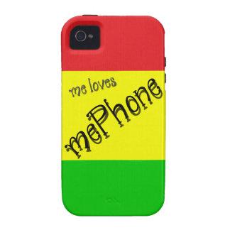 yo mePhone de los amores Funda Vibe iPhone 4