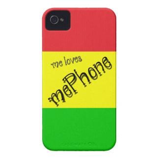yo mePhone de los amores iPhone 4 Cárcasas