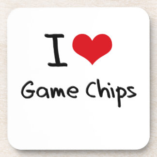 Yo microprocesadores del juego de amor posavaso