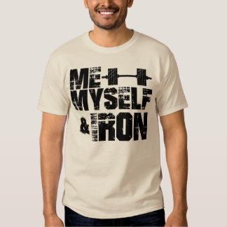 Yo, mismo, y hierro camisas