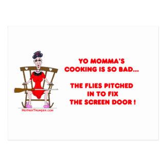 Yo Momma # 01 Postcard