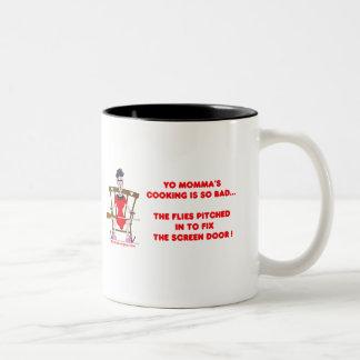 Yo Momma # 01 Two-Tone Coffee Mug