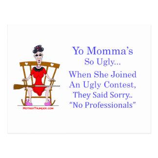 Yo Momma # 04 Postcard